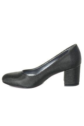 Mammamia 3850 Siyah Nokta Klasik Cilt Ayakkabı 2