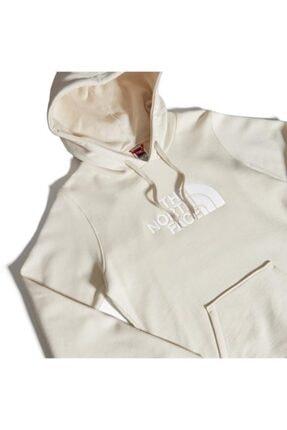 The North Face Drew Peak Pullover Hoodie Kapüşonlu Kadın Sweatshirt Beyaz 2