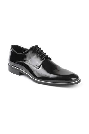 Libero 2140 Lacivert Rugan Baskılı Klasik Ayakkabı 4