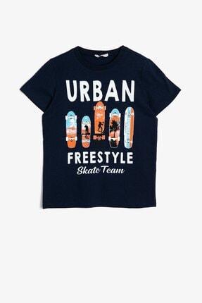 Koton Erkek Çocuk Koton Yazılı Baskılı T-shirt 0ykb16045ok 0
