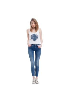 Mustang Jasmin Jeggins Kadın Jean Pantolon Açık Mavi 0