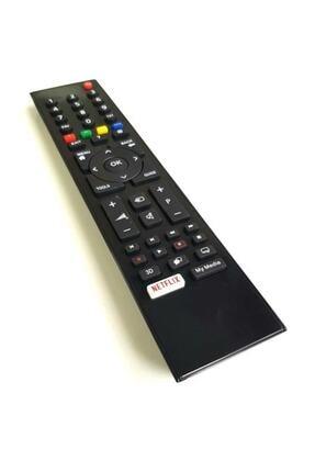 Arçelik Beko Altus Grundig Smart Lcd Led Tv Televizyon Kumandası Netflix Tuşlu 0