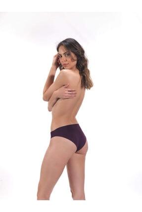 Cottonhill Klasik Basic Lazer Kesim Bikini Külot 3'lü Paket - 3 2