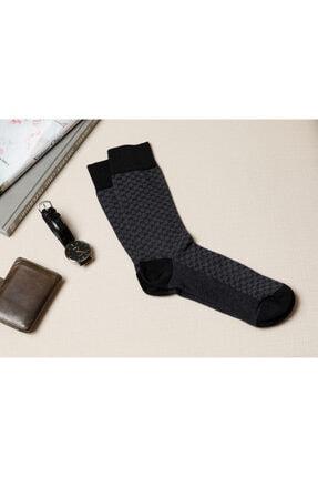 English Home Matris Pamuk Erkek Çorap Siyah 0