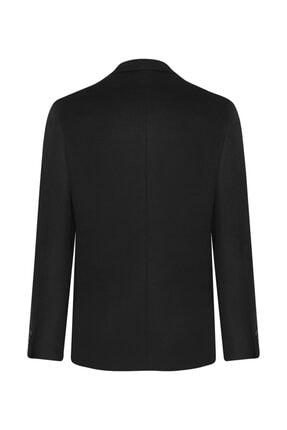 W Collection Siyah Kaşmirli Ceket 2