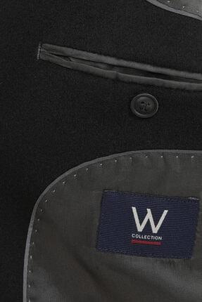 W Collection Siyah Kaşmirli Ceket 4