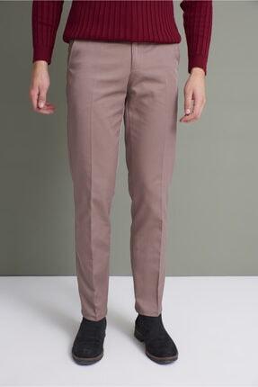 Tena Moda Erkek Koyu Vizon (214) Klasik Rahat Kalıpkumaş Pantolon 0