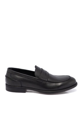 Tergan Siyah Deri Erkek Ayakkabı 55072a43 2