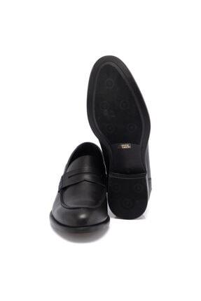 Tergan Siyah Deri Erkek Ayakkabı 55072a43 3