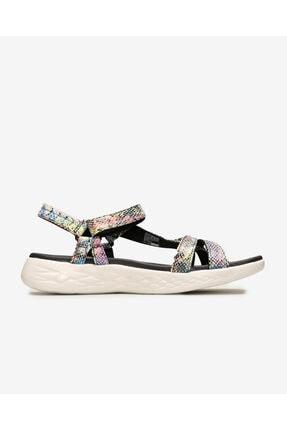 Skechers Kadın Siyah Sandalet 1