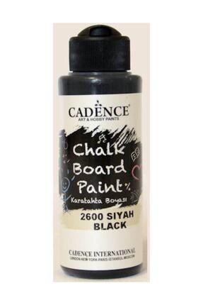 Cadence Boya Chalkboard Paint Karatahta Boyası 120 ml. 2600 Siyah 0