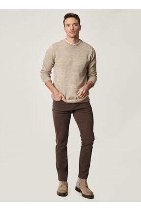 Altınyıldız Classics Erkek Kahverengi 360 Derece Her Yöne Esneyen Rahat Slim Fit Pantolon 0
