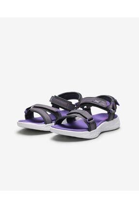 Skechers ON-THE-GO 600- LIL RADIANT Büyük Kız Çocuk Gri Sandalet 2
