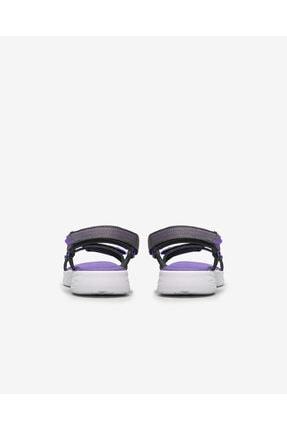 Skechers ON-THE-GO 600- LIL RADIANT Büyük Kız Çocuk Gri Sandalet 3