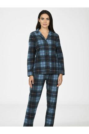 Nbb Ekose Polar Kadın Pijama Takımı 67020 0