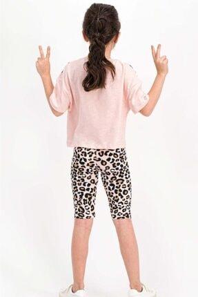 Rolypoly Dance Somon Kız Çocuk Tayt Takım Rp1807-c 2