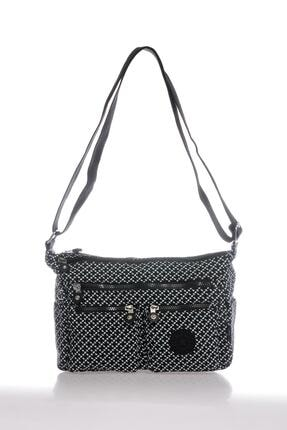 Smart Bags Smb3065-0127 Siyah/beyaz Kadın Çapraz Çanta 0