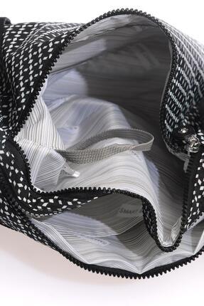 Smart Bags Smb3065-0127 Siyah/beyaz Kadın Çapraz Çanta 3