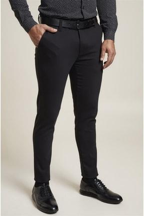 Efor P 1071 Slim Fit Siyah Spor Pantolon 1