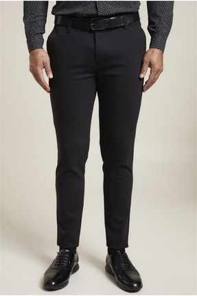Efor P 1071 Slim Fit Siyah Spor Pantolon 2