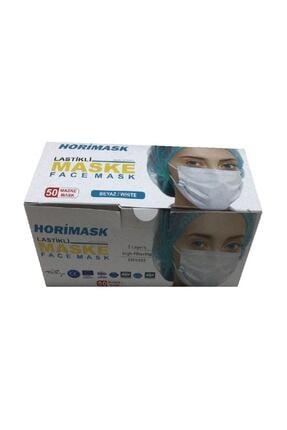HORİMASK 3 Katlı-telli Cerrahi Maske- 50 Adet 0