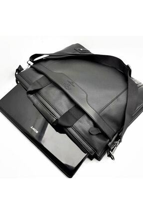 Westpolo Laptop & Evrak Çantası Suni Deri Siyah 3