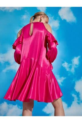Nocturne Omuz Detaylı Mini Elbise 1