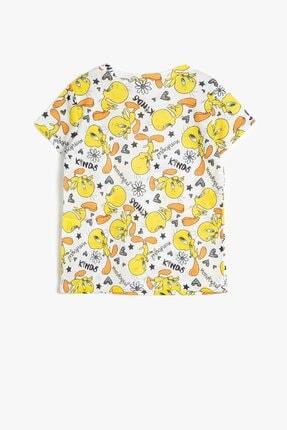 Koton Koton Kız Çocuk Sarı Looney Tunes Lisanslı Baskılı T-Shirt 0ykg17004gk 1