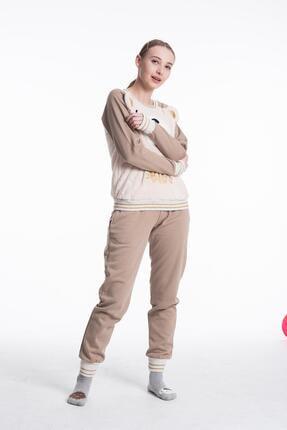 Feyza 3552 Bayan Simli Pijama Takımı 1