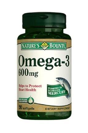 Natures Bounty Omega-3 600 Mg 90 Soft Jel 0