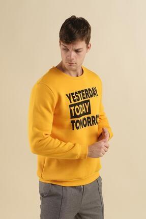Oksit Coll City Yesterday Slim Fit Pamuklu Sweatshirt 2