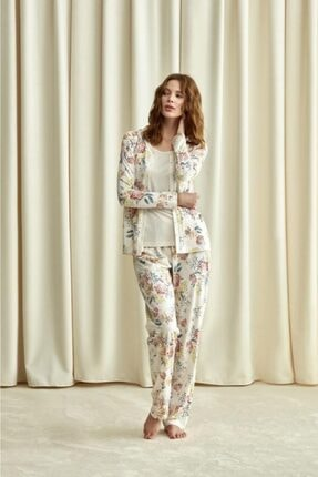 Catherines 1734 Üçlü Pijama Takım 0