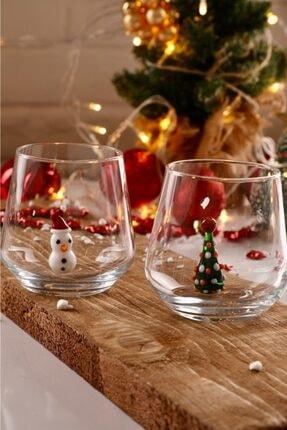 mozaikturk Yılbaşı Özel 6'lı Su Bardağı Seti 1