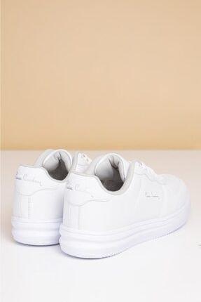 Pierre Cardin Erkek Günlük Spor Ayakkabı-Beyaz PCS-10155 3
