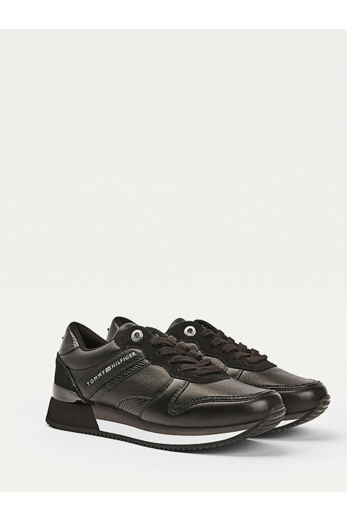 Kadın Siyah Sneaker Corporate Femınıne Cıty Sneaker FW0FW05233