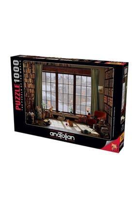 Anatolian Puzzle Pencere Kedileri 1000 Parça Puzzle 1