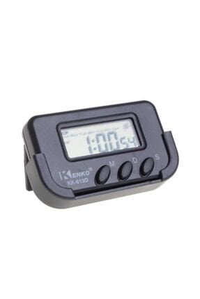 Kenko Kk-613d Dijital Küçük Masa-araba Saati-alarm-kronometre 1