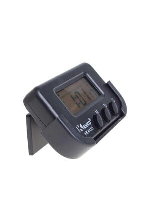 Kenko Kk-613d Dijital Küçük Masa-araba Saati-alarm-kronometre 2