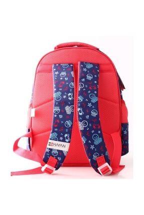 Hello Kitty Pembe Kız Çocuk Okul Çantası 88929 1
