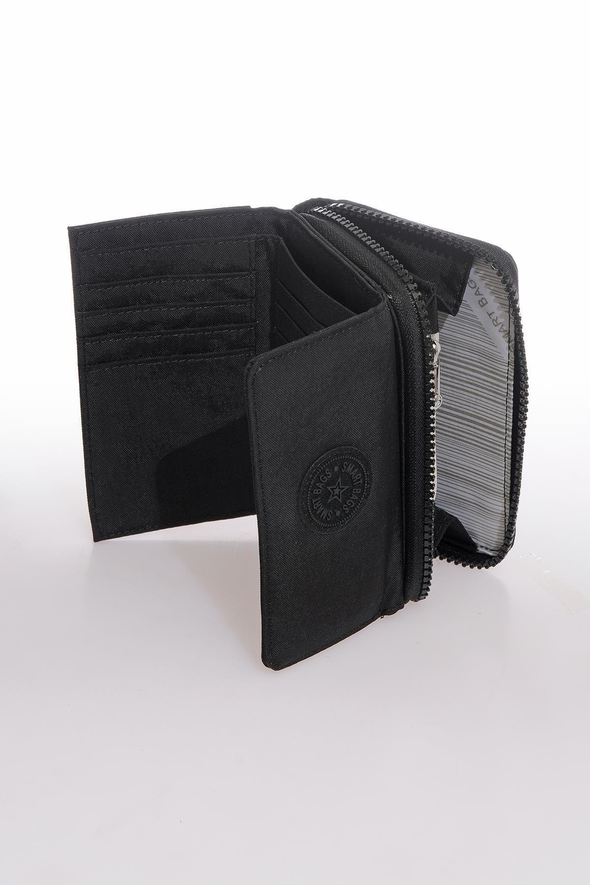 Smart Bags Smb3036-0001 Siyah Kadın Cüzdan