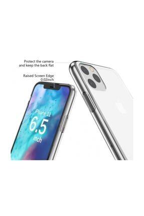 Dijimedia Apple Iphone 11 Pro Kılıf Ultra Ince Esnek Süper Silikon - Şeffaf 3
