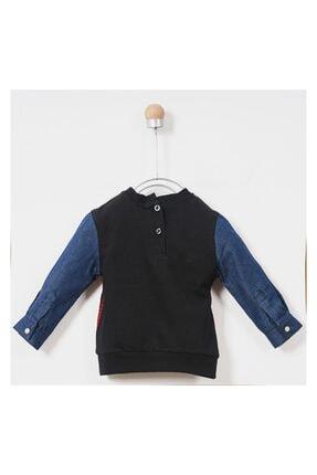 Panço Sweatshirt Erkek Bebek Siyah 1