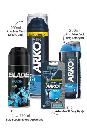 Blade Arko Men Tıraş Seti Ve Deodorant 150ml 1