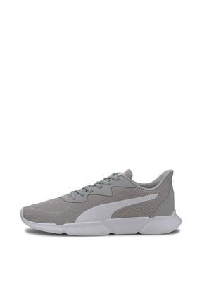 Puma INTERFLEX RUNNER Gri Kadın Koşu Ayakkabısı 100547183 2