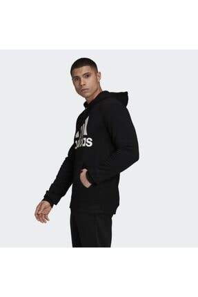 adidas Mh Bos Po Ft Erkek Siyah Günlük Stil Sweatshirt Gc7343 1