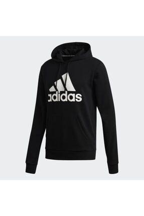 adidas Mh Bos Po Ft Erkek Siyah Günlük Stil Sweatshirt Gc7343 4