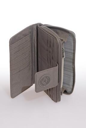 Smart Bags Smb3034-0078 Gri Kadın Cüzdan 2