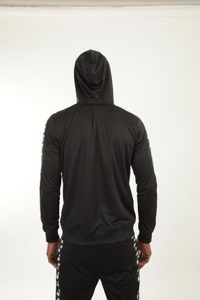 New Balance Erkek Siyah Kapüşonlu Sweatshirt Mpj007-bk 3
