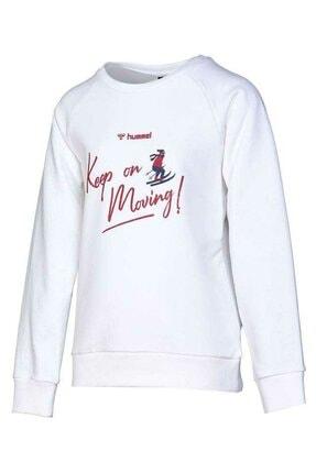 HUMMEL Kız Çocuk Ringe Beyaz Sweatshirt 921033-9973 0