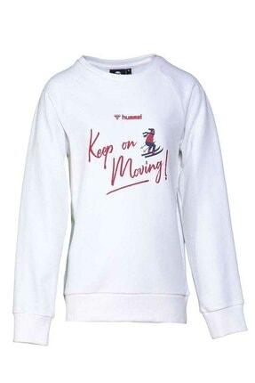 HUMMEL Kız Çocuk Ringe Beyaz Sweatshirt 921033-9973 1